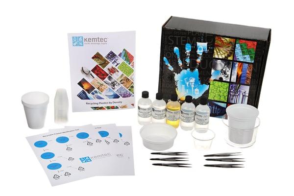 1-143_Recycling Plastics by Density Class Kit