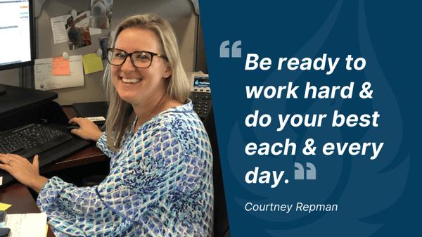 Courtney Repman quote
